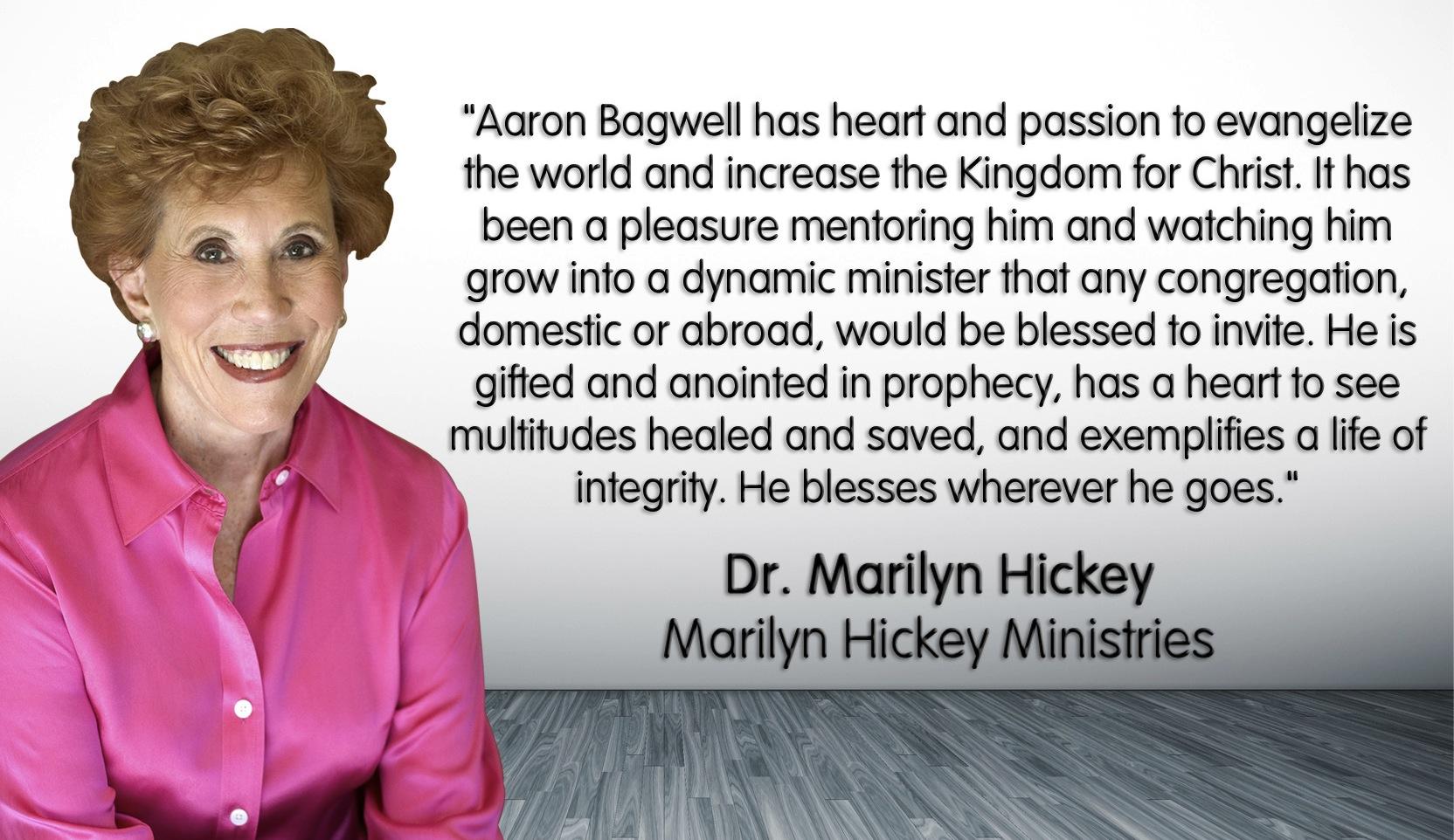 Endorsements for Pastor Aaron | BagwellBlog com